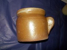 Vintage French Duck/Goose Fat Pot Earthenware