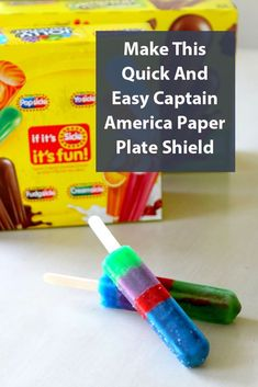 Make This Quick And Easy Captain America Paper Plate Shield Paper Plate Animals, Daycare Curriculum, Paper Plate Crafts For Kids, Dinosaur Crafts, Ocean Crafts, Alphabet Crafts, Homemade Christmas Gifts, Preschool Crafts, Paper Plates