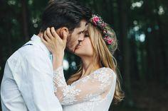 Una sesión de boda en el bosque : Fresh & Wood