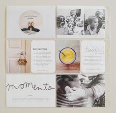 such perfection! by Catherine Saunders #projectlife #scrapbooking