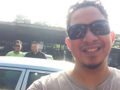 w/Tardy&Yudi nonton Gerhana Matahari Total #Jakarta #80%