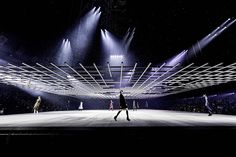 "So, that's pretty cool. ""bureau betak builds blade runner-style grid for esprit dior tokyo show"" - designboom | architecture"