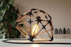 libero rutilo – making of icosa lamp