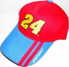 Jeff Gordon Jeff Gordon 2 Stripe Dupont Motosports  24 Adjustable NASCAR Hat  by NASCAR.  12.99. Nascar Trackside Adjustable Hat. f93dce2cae9e