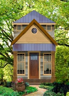 texas tiny homes plan 423 / charming 1 and 1/2 story; ideal as a guest suite, a mother-in-law suite, a live-in-nanny or maid, a cabin at the lake, mountain get-a-way retreat, or country living!!