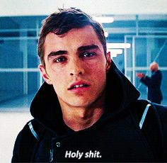 Dave Franco's reaction every time he looks in a mirror