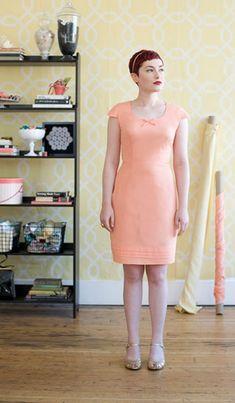 Colette Sewing Handbook: Pastille Dress
