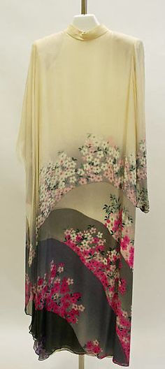 Evening dress Hanae Mori 1983