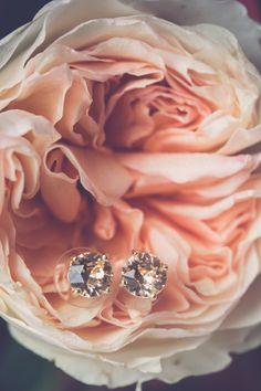 wedding jewelry, photo by Kivalo Photography http://ruffledblog.com/1st-portland-notwedding #jewelry #earrings #bridal