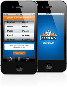 Elmer's Glue Guide can help you find the right glue for the job!