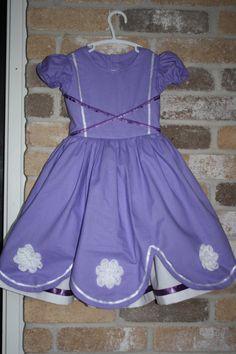 Princess Sophia Dress   Mon Petit Tresors on Etsy