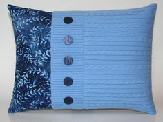 Etsy shop owner Denise DuBois (House on the Hill Quilts) loves making pillows…