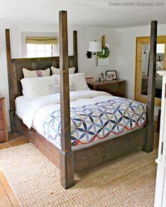 Farmhouse Bedroom Set Ana White 24 Ideas For 2019 Home Decor Furniture, Furniture Plans, Bedroom Furniture, Diy Home Decor, Rustic Furniture, Furniture Design, Simple Furniture, Refurbished Furniture, Furniture Layout