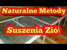 Naturalne metody suszenia ziół bez prądu! - YouTube Youtube, Youtubers, Youtube Movies