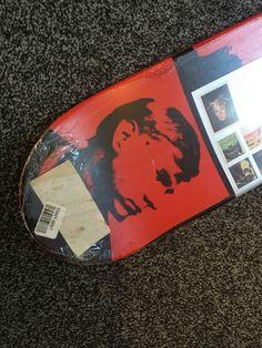 Andy Warhol Skateboard Skate Deck Jason Dill Ltd Edition Alien Workshop Pro Deck…