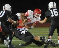 Xavier holds NFA to 20 total yards in season-opening loss – The Class LL traditional power played like a traditional power in the opening game for both at Larry McHugh Stadium on Friday. The Falcons held Norwich Free Academy to 20 total yards of offense and rolled to a 36-0 victory. Read more in Bulletin Sports: http://www.norwichbulletin.com/article/20160909/sports/160909435 #Ctsports #Sports #Xavier #NFA #NorwichCT #NorwichFreeAcademy #HSFootball #Football