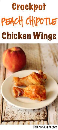 Crockpot Chicken Wings from TheFrugalGirls.com