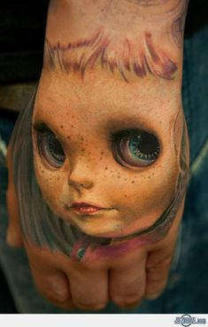 13 Akelig realistische 3D-tattoos   WTF   Upcoming