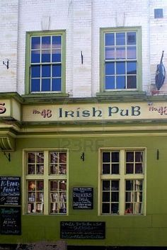 #140. Have a drink in a real Irish Pub.