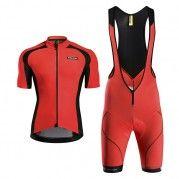 2015 EVO Plus Bravery Red Cycling Kits a36c60cf5