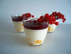 Yoghurt Panna Cotta met Mango - Uit Pauline's Keuken