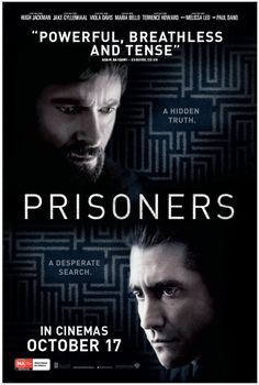 Prisoners (2013) Official Poster #film: