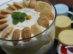 Banana Pudding with Homemade Vanilla Wafers Recipe : Nancy Fuller : Food Network - FoodNetwork.com