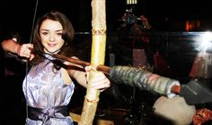 An absolutely adorable Maisie Williams at the Game of Thrones Exhibition opening in New York City (03.27)