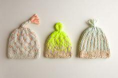 Trio of Colorwork Hats | Purl Soho