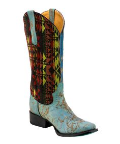 Bold pattern-play and bright hues bring plenty of giddyup glamour to your strides in this standout pair. Western Cowboy, Cowboy Boots, Buy Now, Westerns, Pairs, Turquoise, Leather, Shoes, Shopping