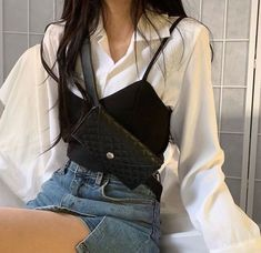 Adrette Outfits, Spring Fashion Outfits, Korean Outfits, Cute Casual Outfits, Look Fashion, Teen Fashion, Fashion Tips, Fashion Men, Modest Fashion