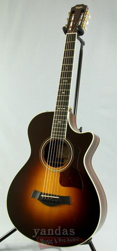 A Top-notch Guitar with a Shorter Scale Length The 712ce is one of Taylor's 12-fret Grand Concert models, where the body meets the neck at the 12th fret rather than the 14th. The shorter scale length