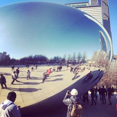 The Big Bean. Millennium Park  | Chicago, Illinois.