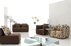 Soiree Modern Sofa Set