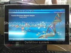 awesome Analizador de la salud del sistema Quantum de Dectection de la seguridad/analizador magn茅tico de Quantum