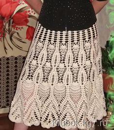 Красивая юбка pattern