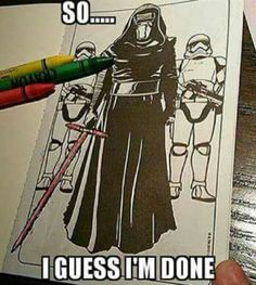 Star Wars coloring