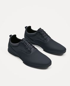 ZARA - MAN - NAVY BLUE SNEAKERS