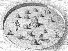 Giant Human Skeletons: Ohio Mound Builders Sun Temple Found In South Carolina