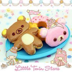 みなさん楽しい週末をお過ごしください♡  リラックマのドーナツかわいいー♡    Super cute Rilakkuma donuts ♡  I hope everyone is having a nice weekend♡    photo taken by Tamy Kitty on WhatIfCamera    Join WhatIfCamera now :)  http://www.wifcam.com    Follow me on Twitter :)  https://twitter.com/WhatIfCamera    Follow me on Pinterest:)  https://pinterest.com/whatifcamera/pins