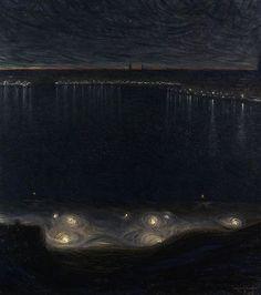 elpasha71:  Eugene Jansson Riddarfjärden in Stockholm, 1898