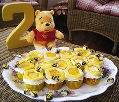 Winnie the Pooh Cupcake Birthday Cake
