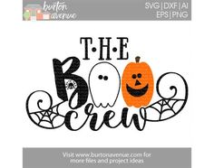 Free Halloween SVG files for Cricut & Silhouette
