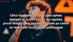 Paulo Londra - Forever Alone (LETRA) Alone, My Crush, My King, Famous People, Crushes, Lyrics, Thoughts, Feelings, Music