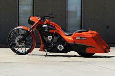 2013 Harley Davidson Road King Custom. Nice even though I'm a sport bike lovers. ..