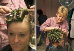 Short Bob Haircuts, Bob Hairstyles, Updo Styles, Curly Hair Styles, Hair Science, Tight Curls, Hair Setting, Hair And Beauty Salon, Beauty Shop