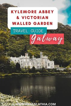 Head on to my blog for a complete travel guide for Kylemore Abbey. #europe #ireland #galway #galwaygirl #connemara #touristattractions #garden #kylemoreabbey #travelguide Kylemore Abbey Ireland   Ireland Landscapes   Places To Visit   Things To Do   Ireland Landscapes   Ireland Aesthetic Connemara Ireland, Galway Ireland, Ireland Travel Guide, Ireland Landscape, Travel Photos, Travel Tips, Scotland Travel, Bucket Lists, Cool Places To Visit