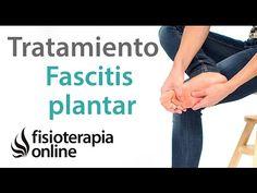 Fascitis plantar - Tratamiento con ejercicios, estiramientos y masajes - YouTube