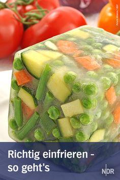 Welche Lebensmittel eignen sich zum Einfrieren?