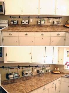 19 Ideas For Small Apartment Storage Hacks Space Saving Small Apartment Storage, Small Apartment Kitchen, Small Apartments, Apartment Living, Diy Kitchen Storage, Small Bathroom Storage, Girls Bedroom Storage, Storage Hacks, Storage Solutions